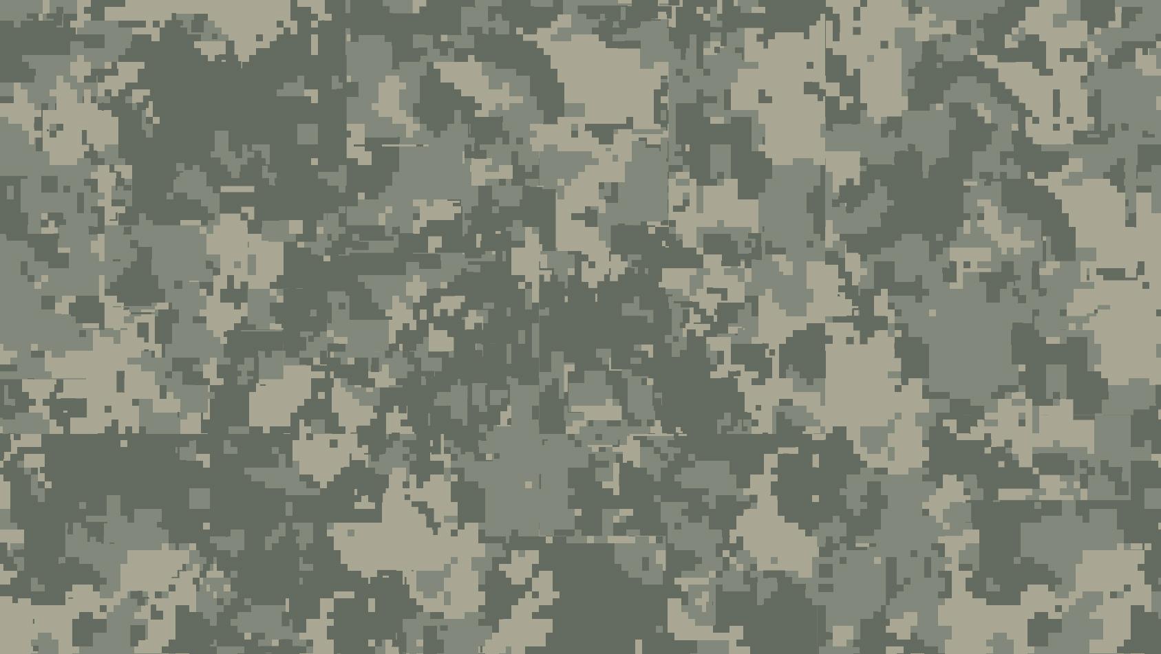 Pixel Black Digital Camouflage Wallpaper