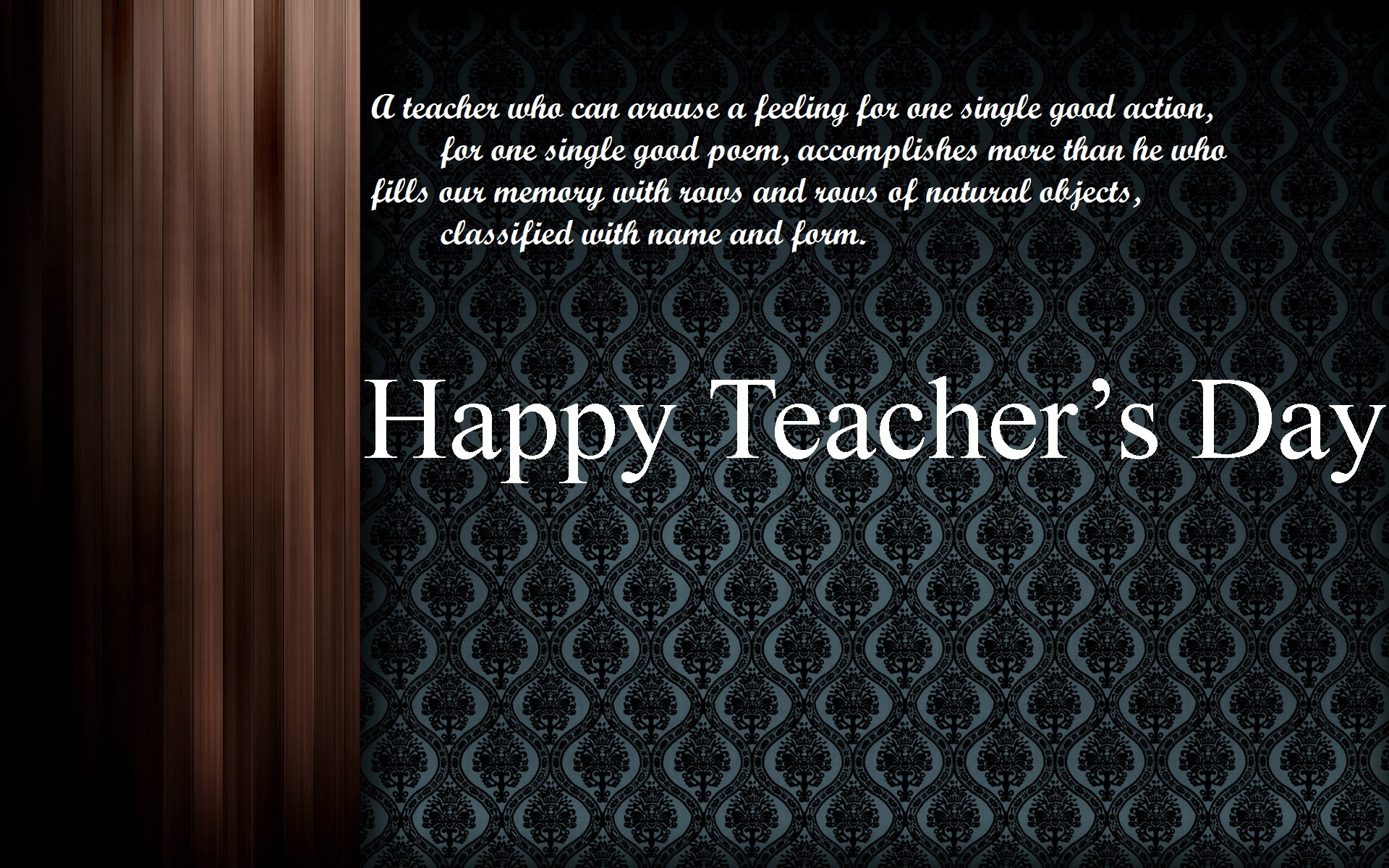 Happy Teachers Day HD Images Wallpapers Pics and Photos 1920x1200