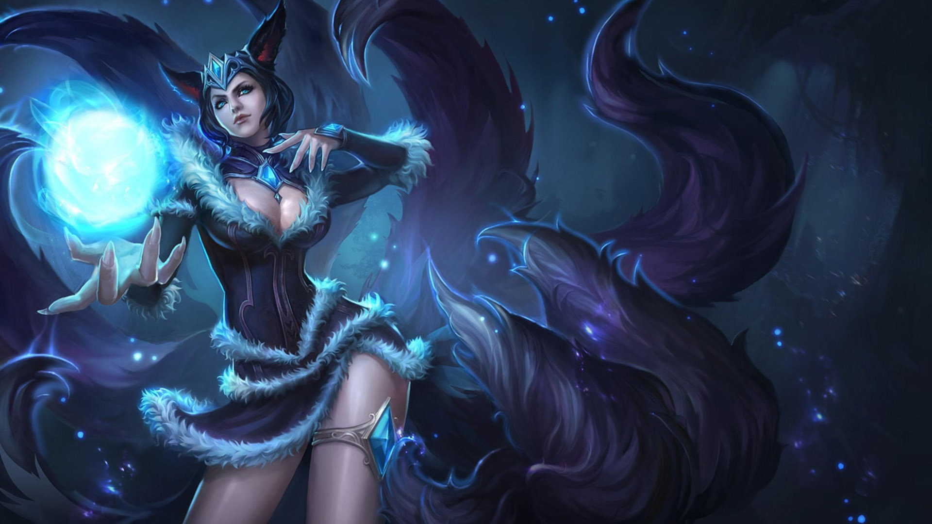 Free Download Ahri League Of Legends Wallpaper 1920x1080 For