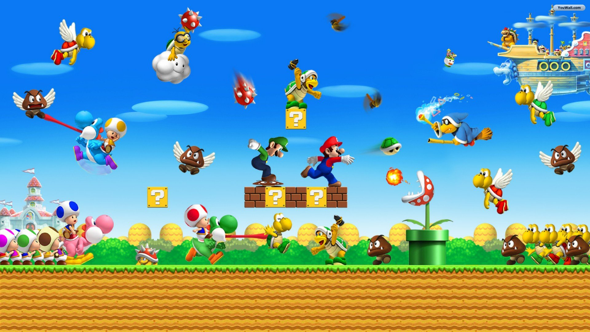 75 Super Mario World Wallpaper On Wallpapersafari
