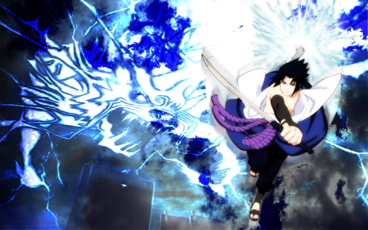Sasuke Uchiha VS Naruto Uzumaki Final Battle   wallpaper 1280x800