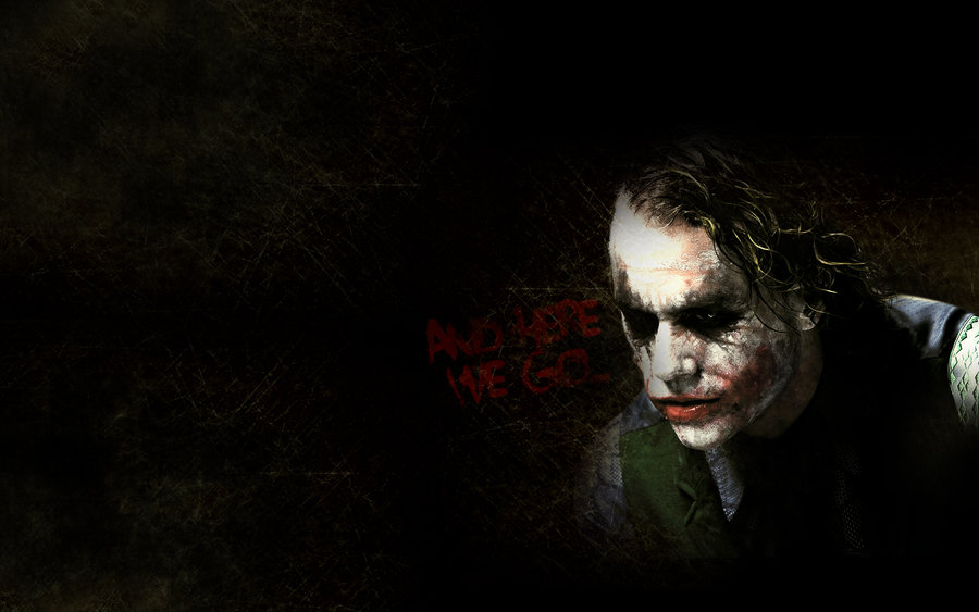 Joker Heath Ledger Background by GustavosDesign 900x563
