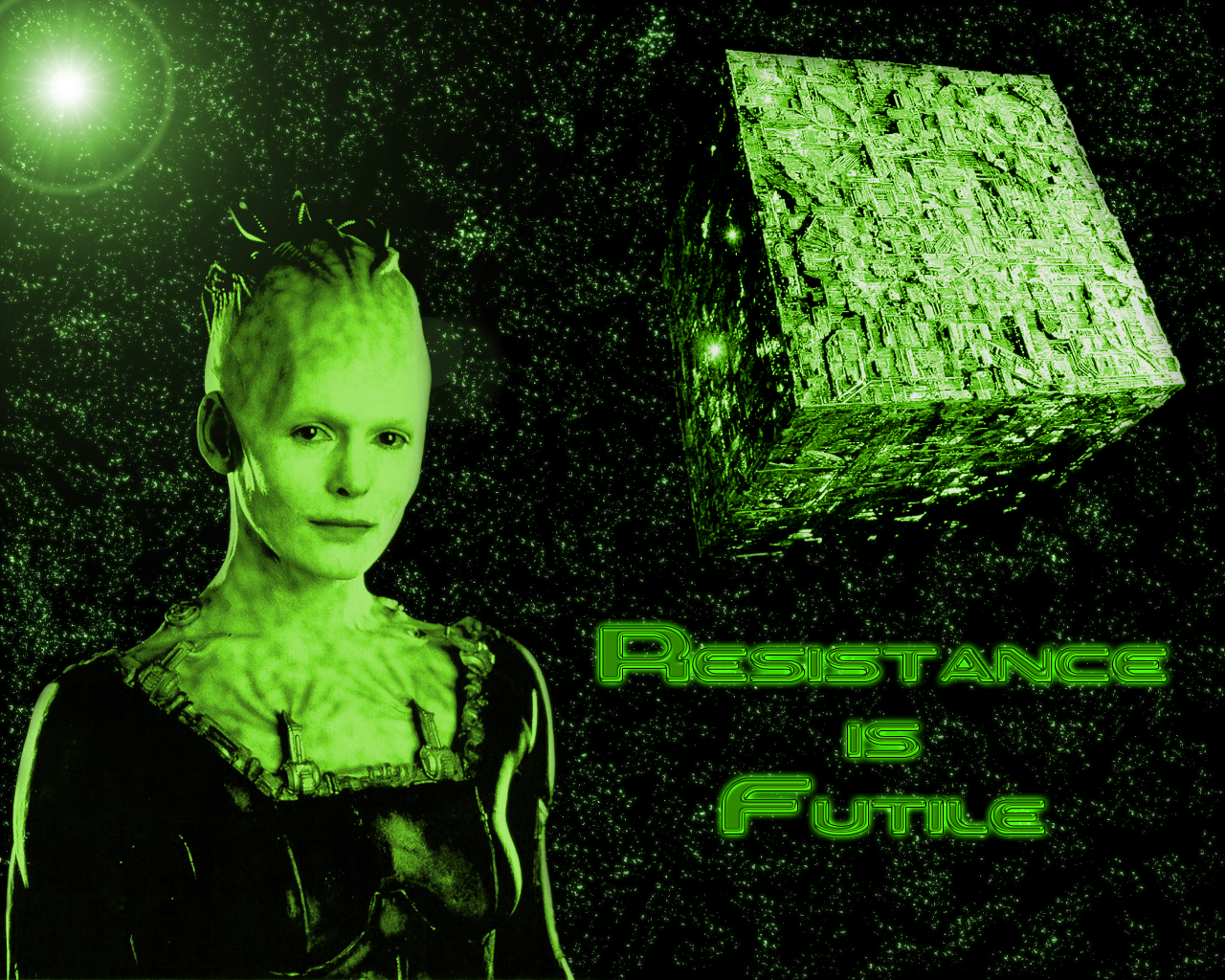 Borg Queen Wallpaper and Background Image 1280x1024 ID33141 1280x1024