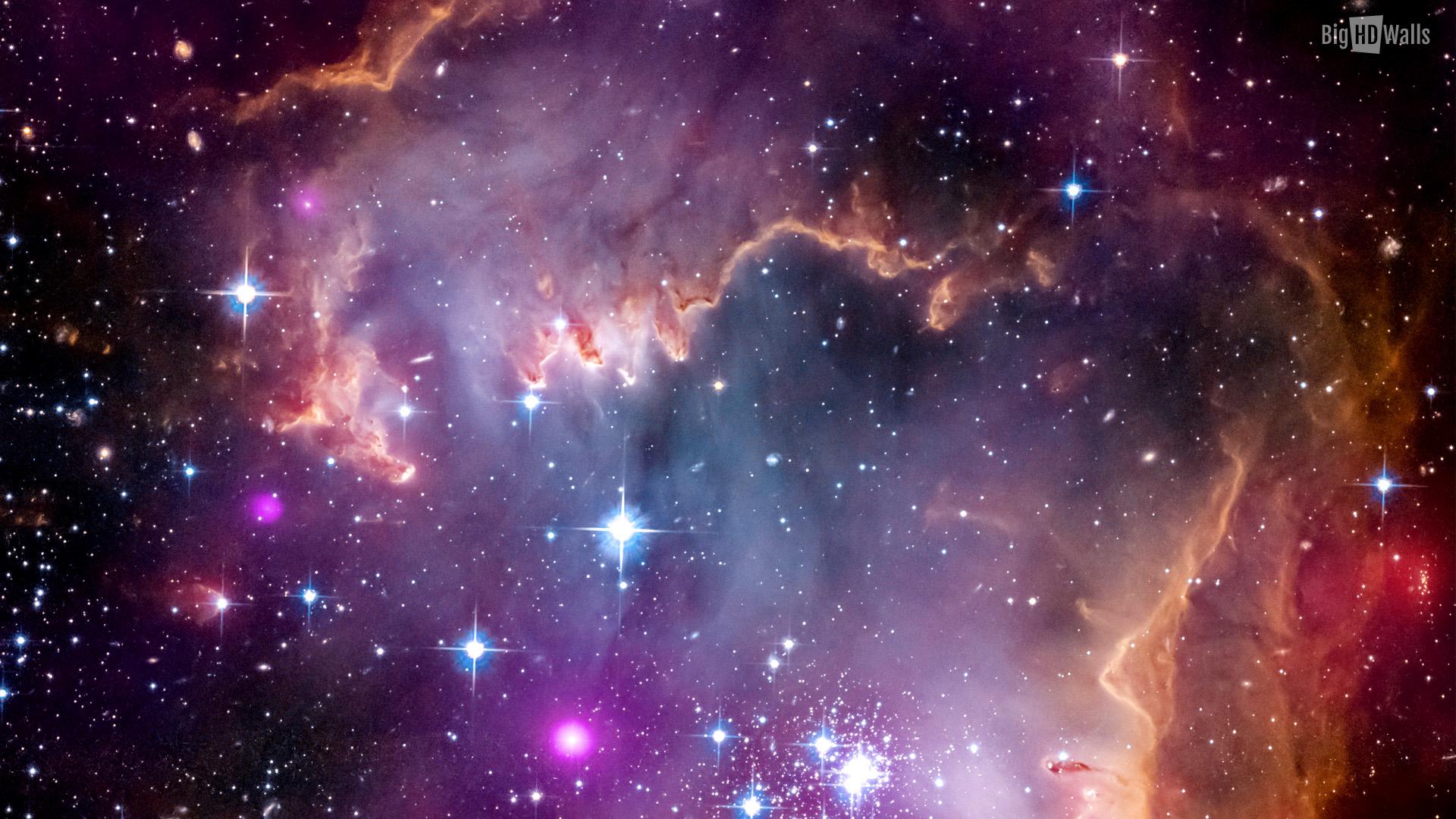 10 Amazing Space HD Wallpaper BigHDWalls 1920x1080