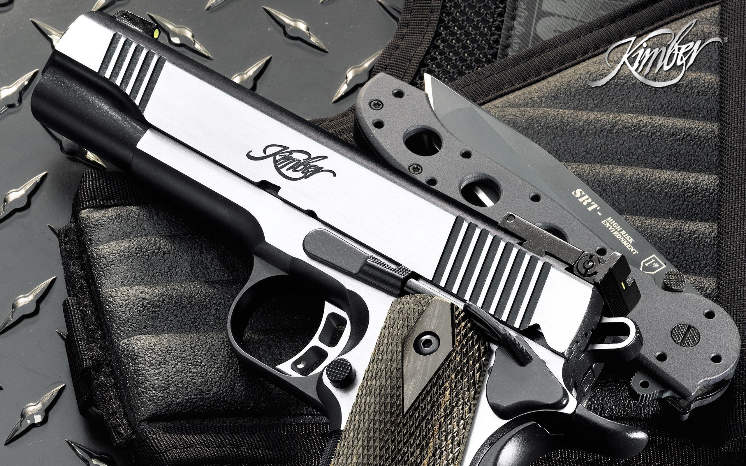 Kimber Pistol HD Wallpaper Background Image 2560x1600 ID 2560x1600