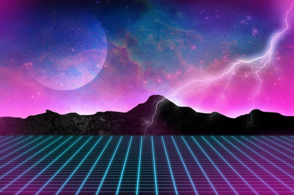 80s Grid Background How to create 80s style retro 600x399
