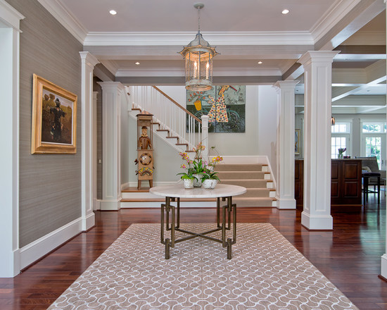 Crown Wallpaper Home Design Ideas Pictures Remodel and Decor 550x440