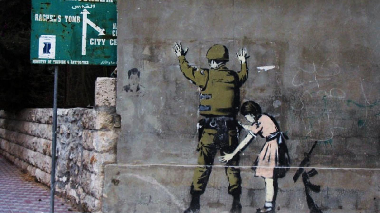 Free Download Banksy Street Art Wallpaper Hq Wallpaper