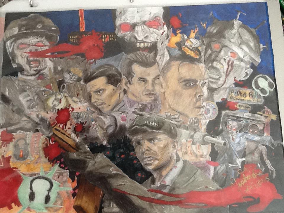 Mob Of The Dead Wallpaper