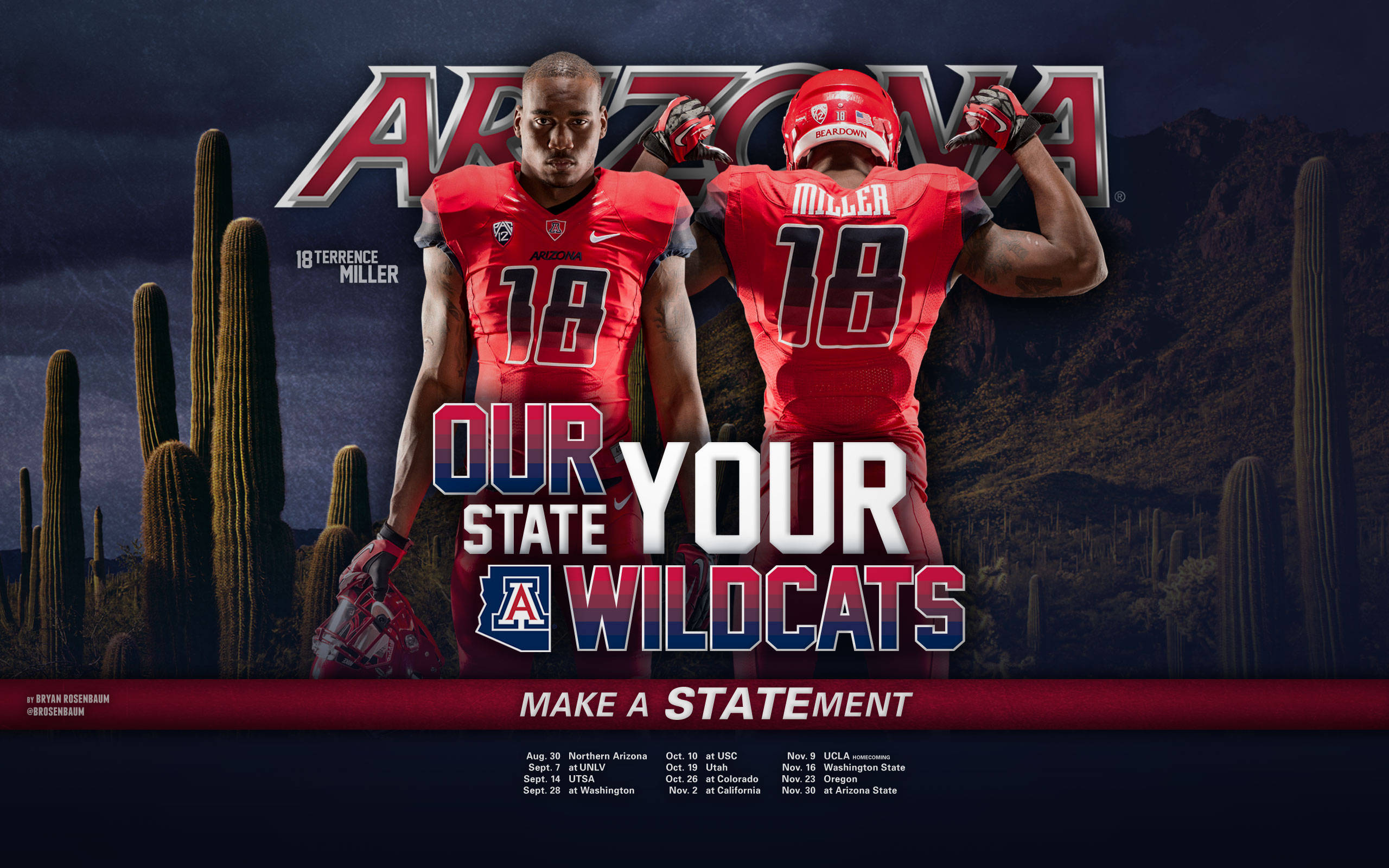 Arizona Wildcats submited images 2560x1600