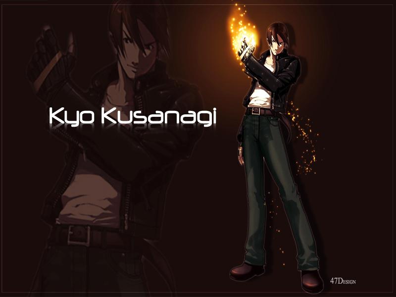 Kyo Kusanagi by Catrin47 800x600