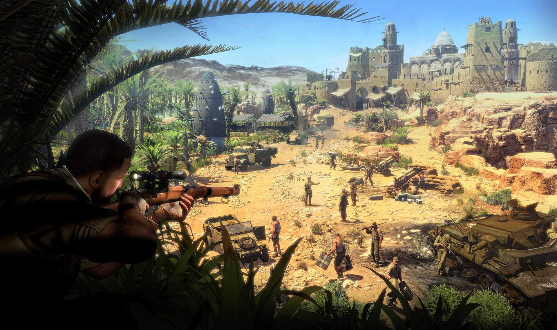 Sniper Elite Wallpaper 1920x1138