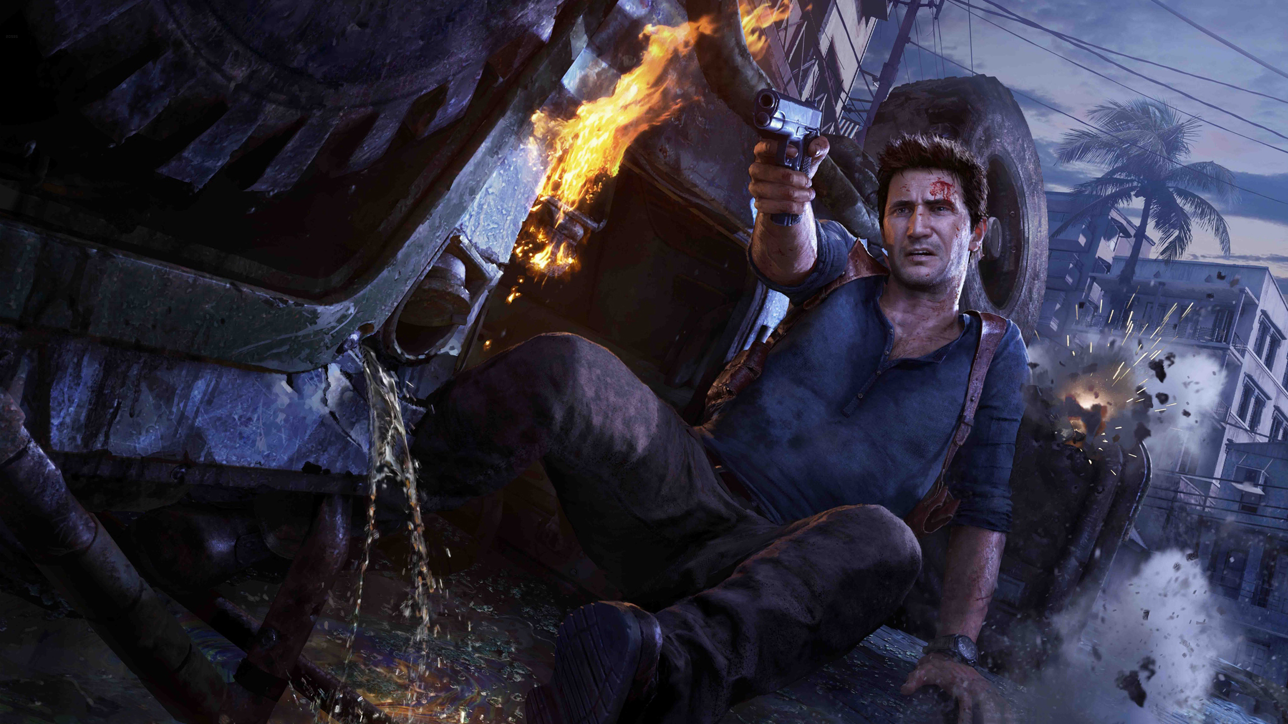 Uncharted 4 A Thiefs End Wallpapers HD Wallpapers 2560x1440