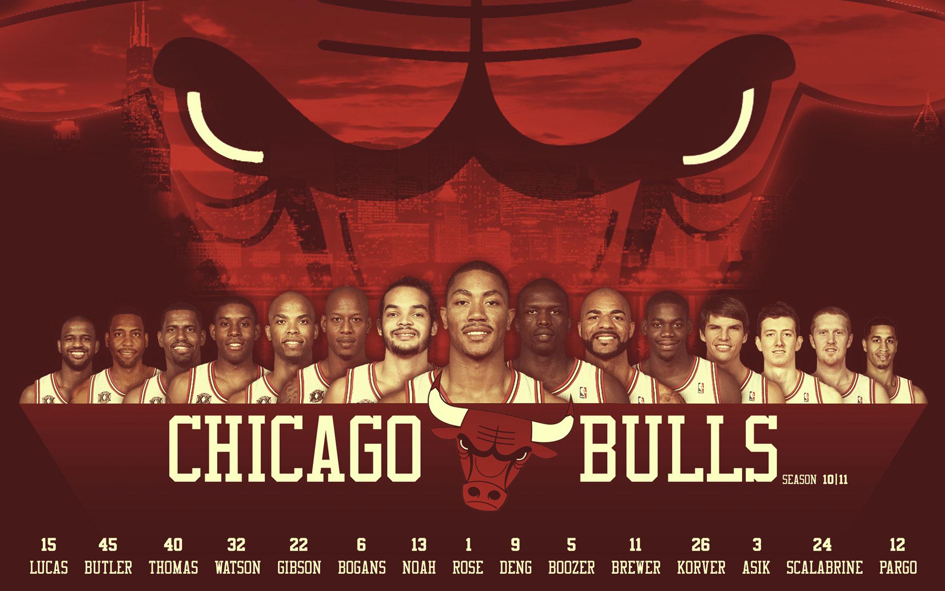 Chicago Bulls Players Basketball Wallpaper Fre 12712 Wallpaper High 1920x1200
