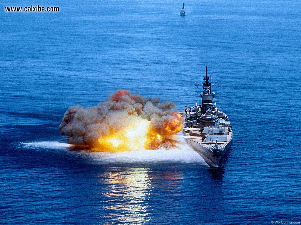 Pin Battleship Firing 1024x768