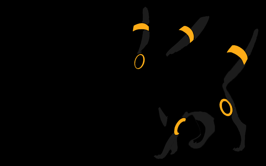 Minimalist PokeWall Umbreon by thermalsensor 900x563