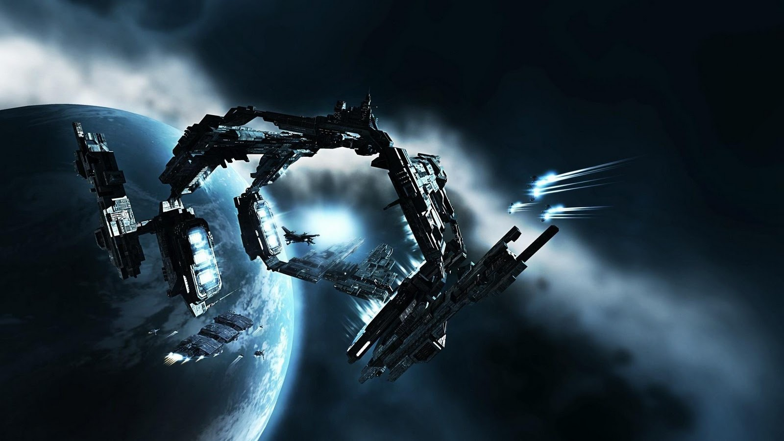 iPad HD 3D Space Widescreen Desktop Wallpaper 1600x900