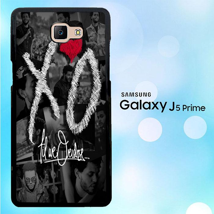the weeknd xo WALLPAPER Y0839 Samsung Galaxy J5 Prime Case 700x700