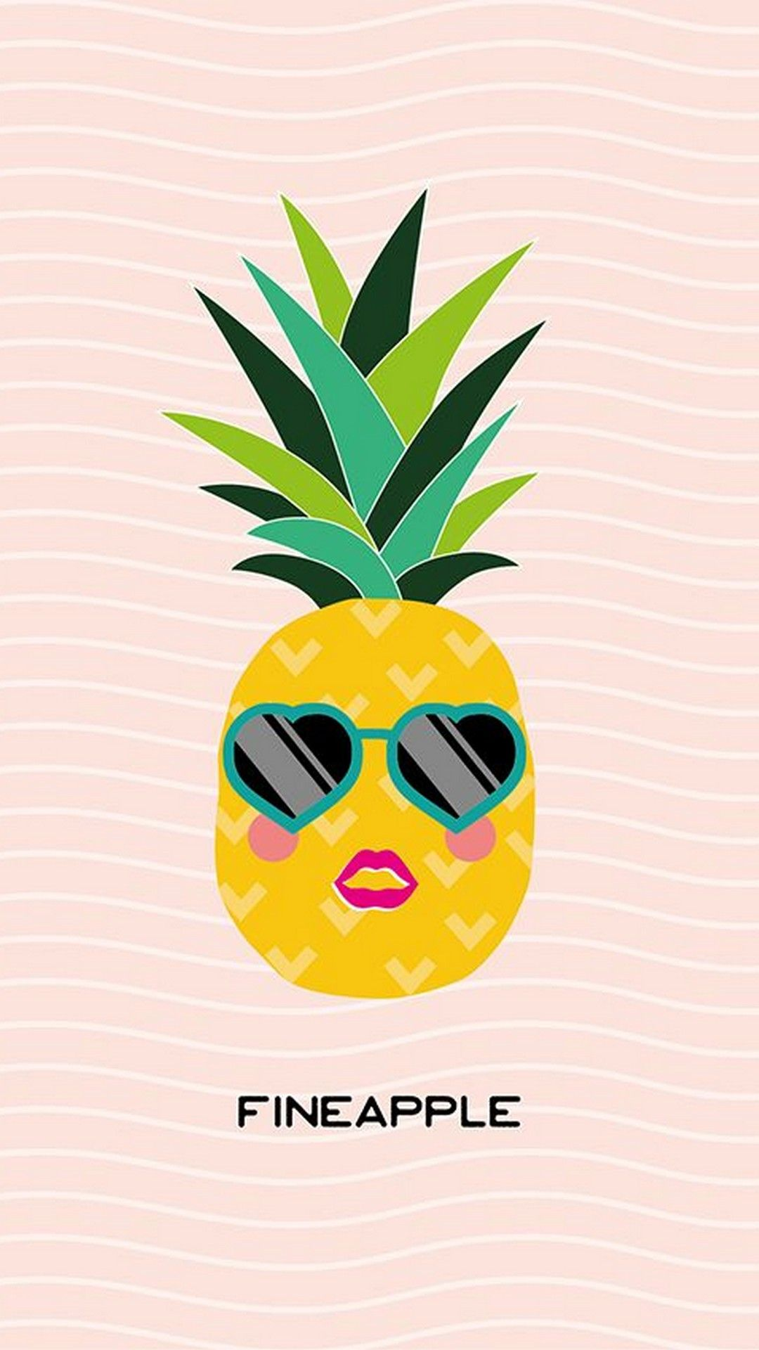 Cute Pineapple Wallpaper For Mobile Best HD Wallpapers Cute 1080x1920