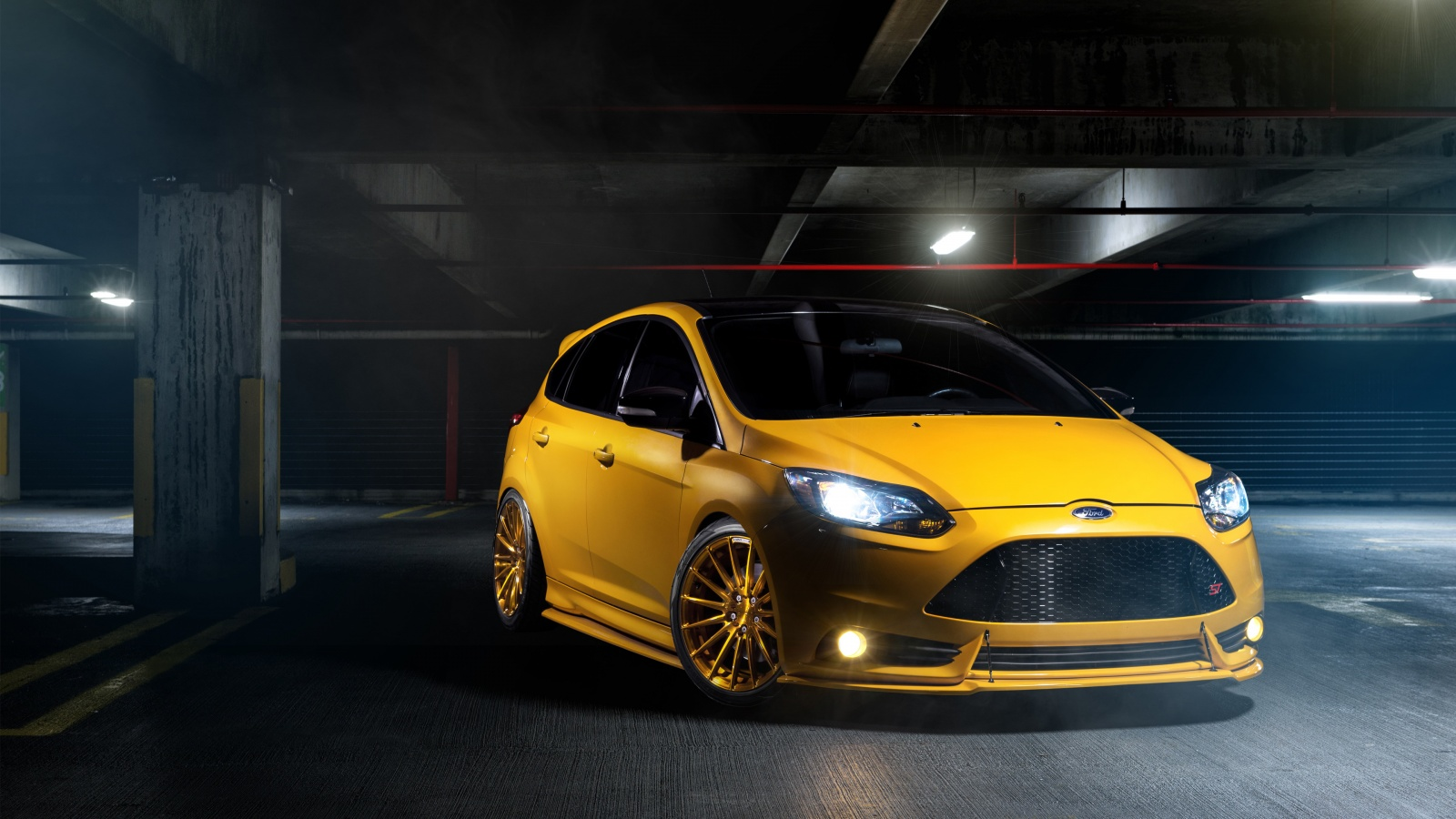 Ford Focus ST Wallpaper HD Car Wallpapers 1600x900