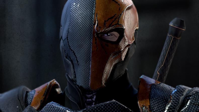 Deathstroke   Batman Arkham Origins Wallpaper theVideoGameGallery 790x444