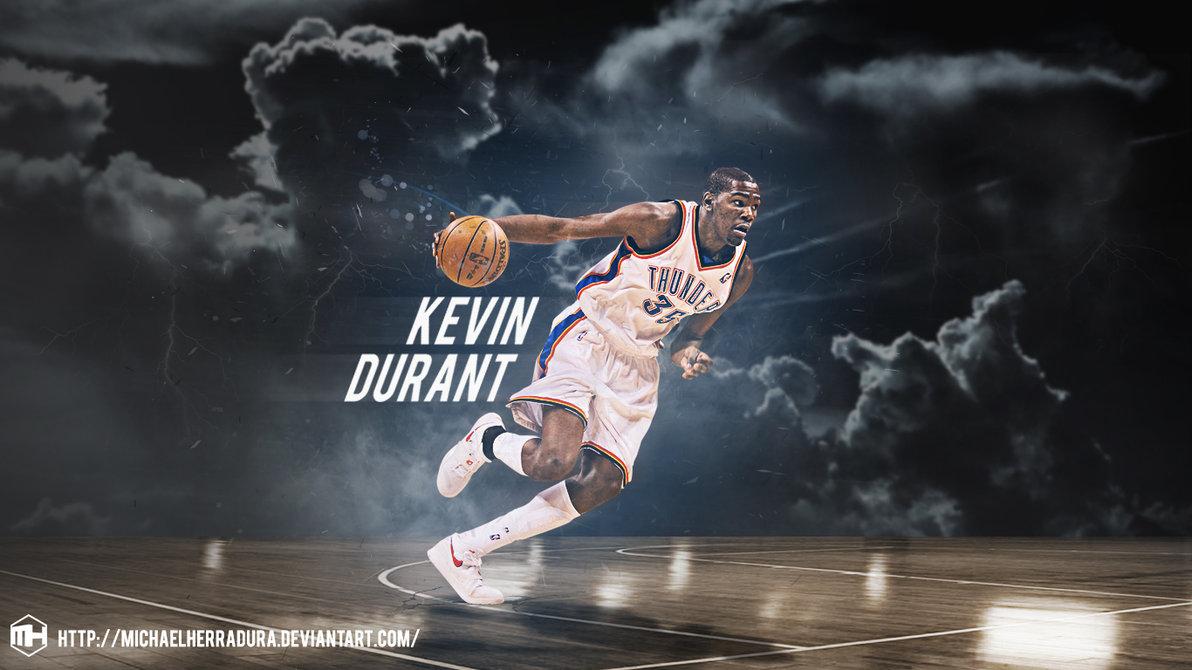 Kevin Durant wallpaper by michaelherradura 1192x670