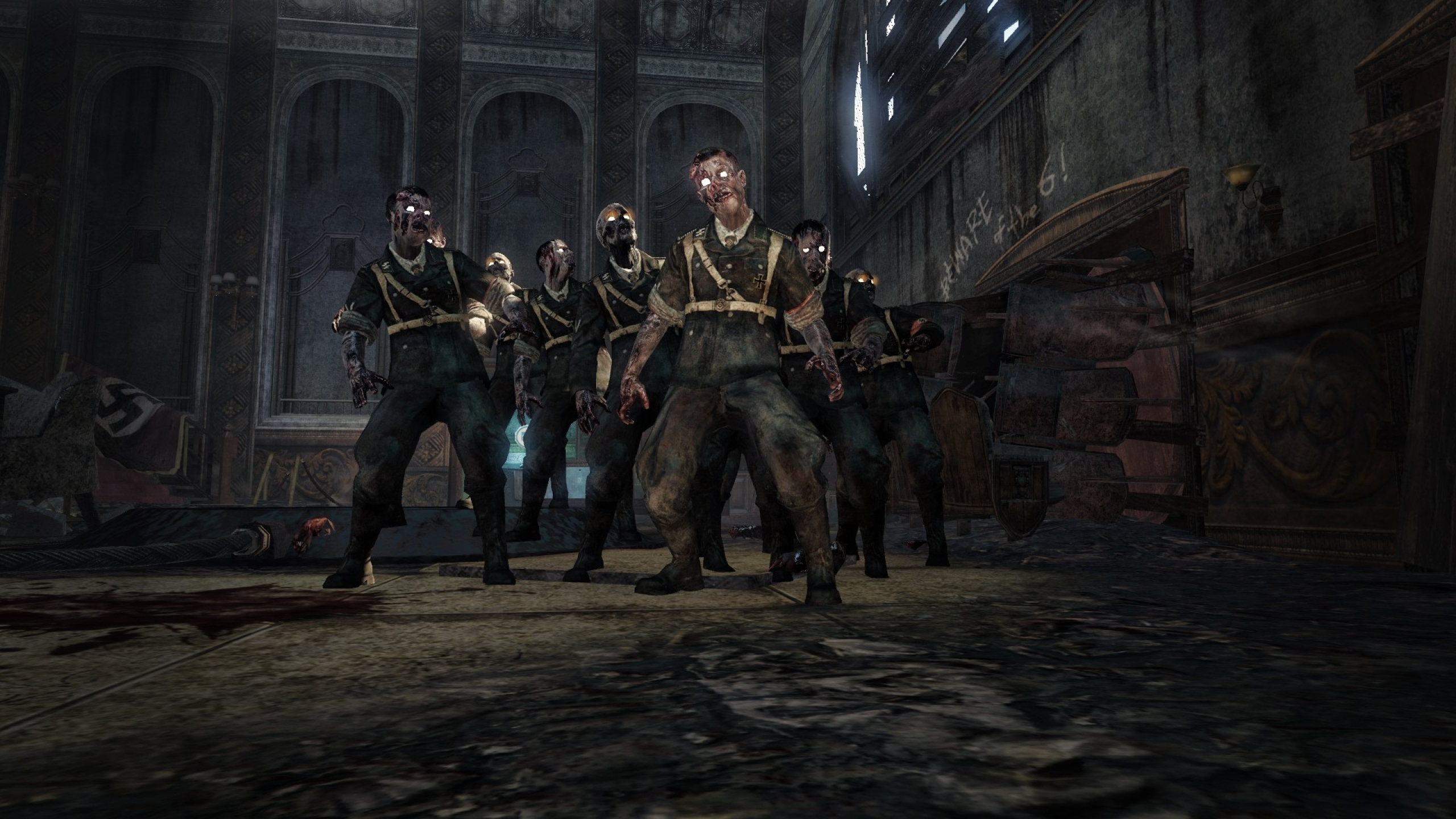 Free Download Zombies Call Of Duty Black Ops Best Wallpaperstop