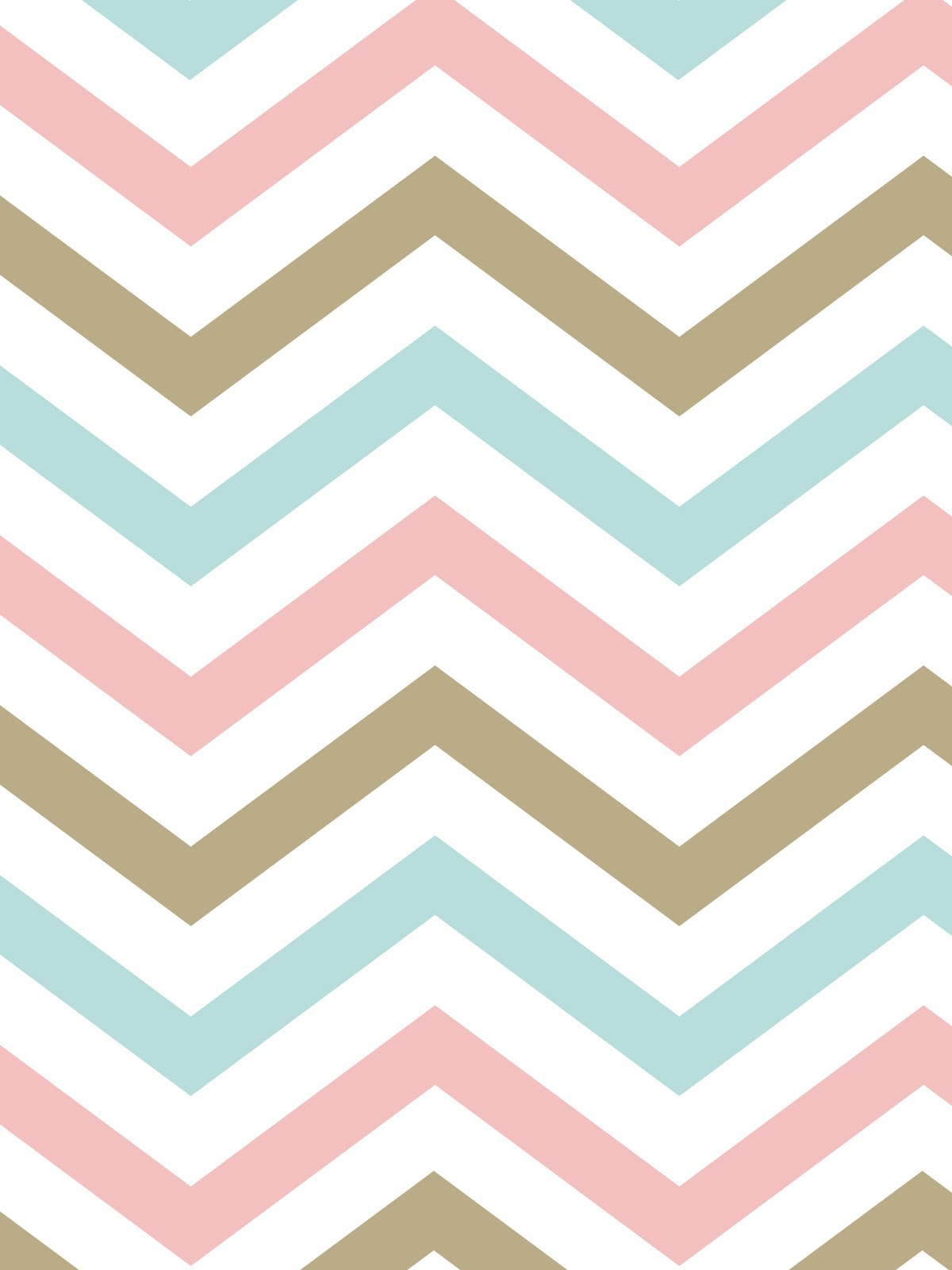 Printables BackgroundsWallpapers ChevronPink Aqua Gold 1200x1600