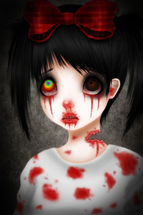 Cute zombie wallpaper wallpapersafari - Dessin anime qui fait peur ...