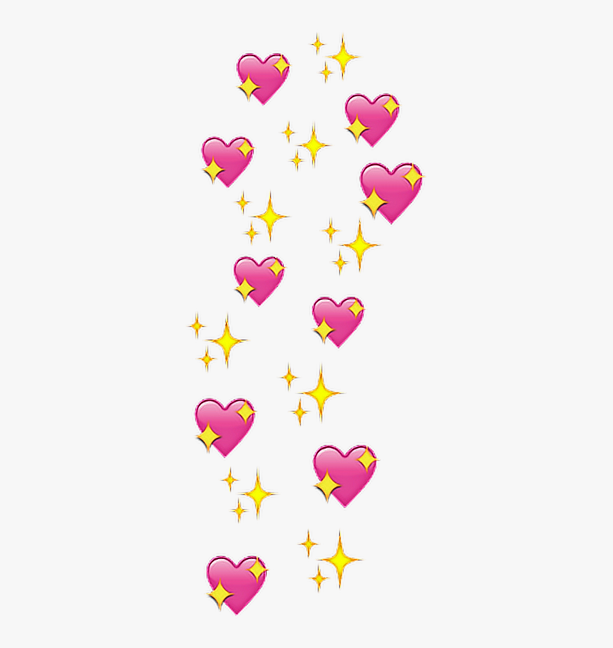hearts cute sparkles heart pretty aesthetic pink   Heart