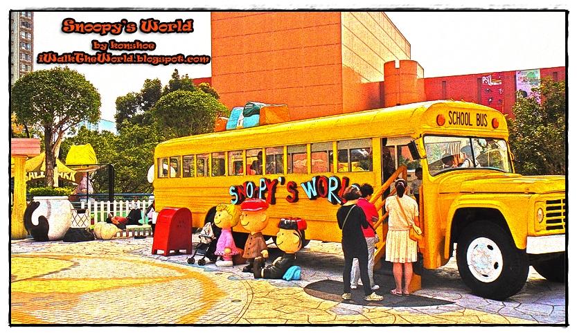 Back to school in Snoopys school bus 833x484