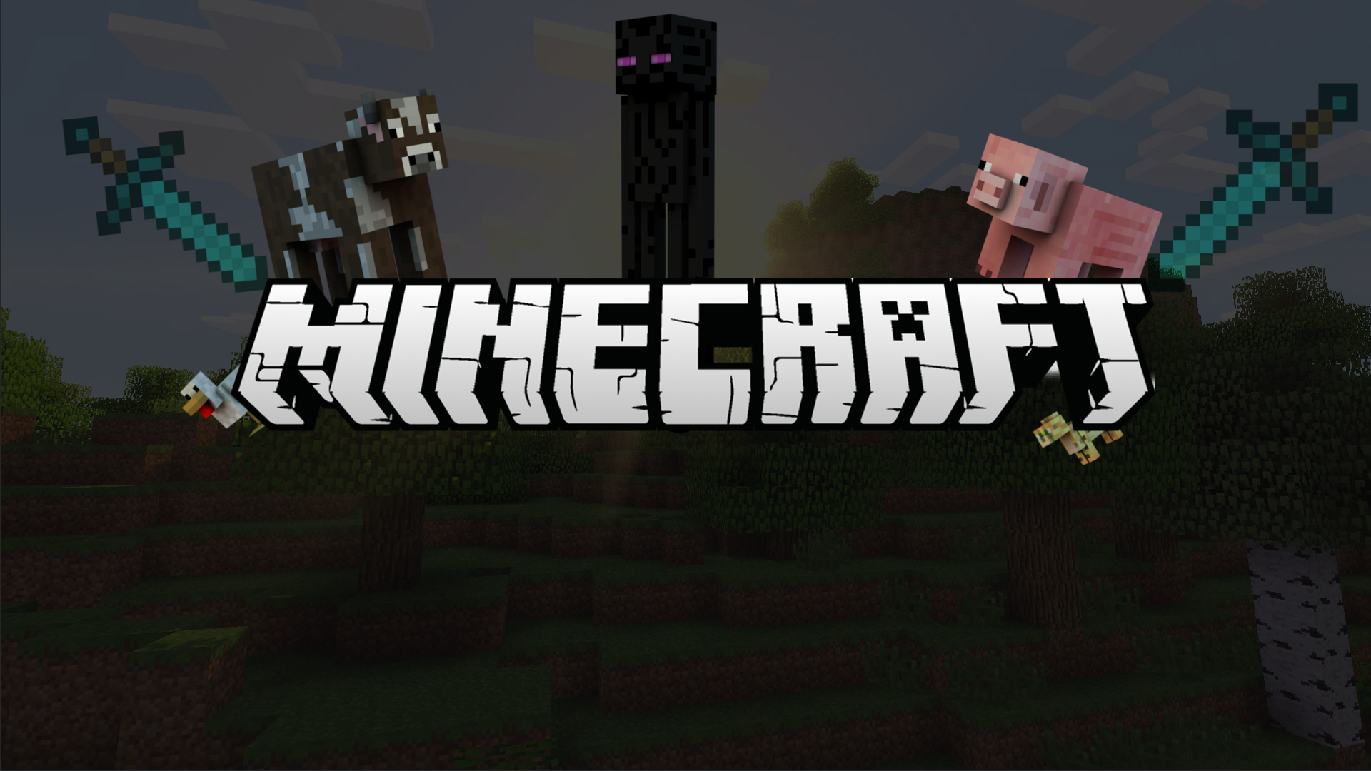 Minecraft 2048 Pixels Wide 1920x1080