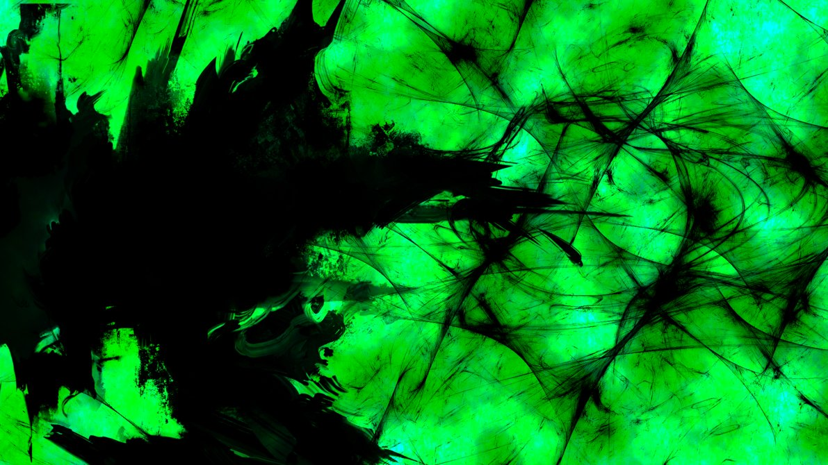 Green Abstract wallpaper by Br8y16 1191x670