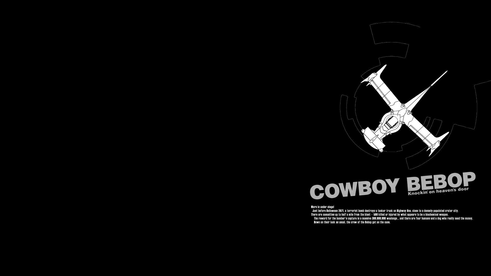 Cowboy Bebop Computer Wallpapers Desktop Backgrounds 1920x1080 ID 1920x1080