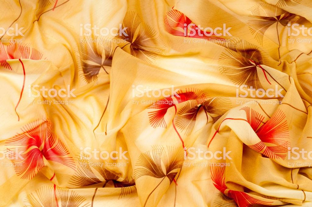 Silk Fabric Texture Background Yellow Light Beige Beige Apr Stock 1024x680