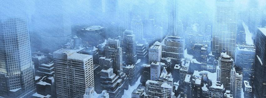 Winter snow new york city wallpaper 13613 851x315