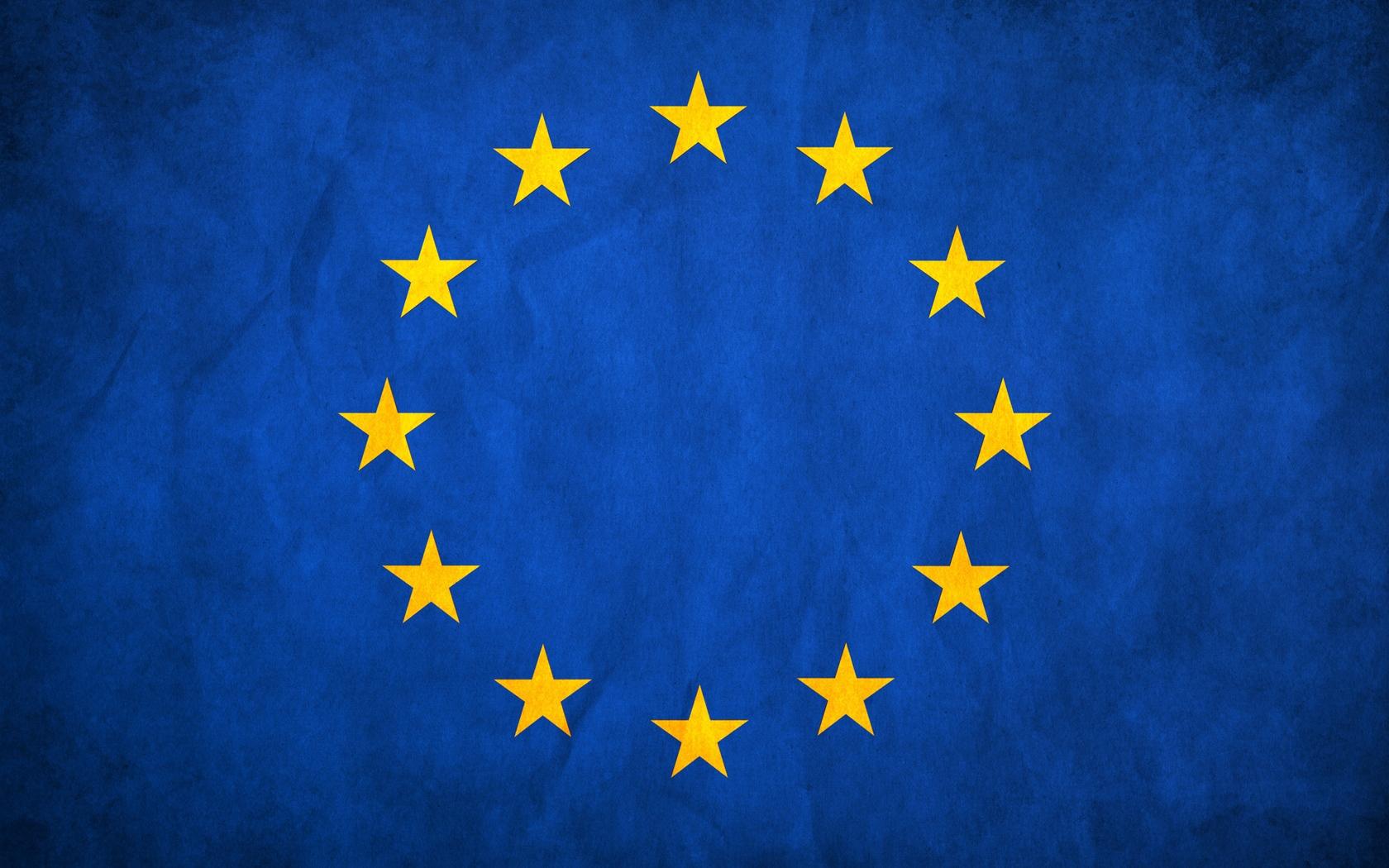 European Union Flag Stars Europe Texture   Stock Photos 1680x1050