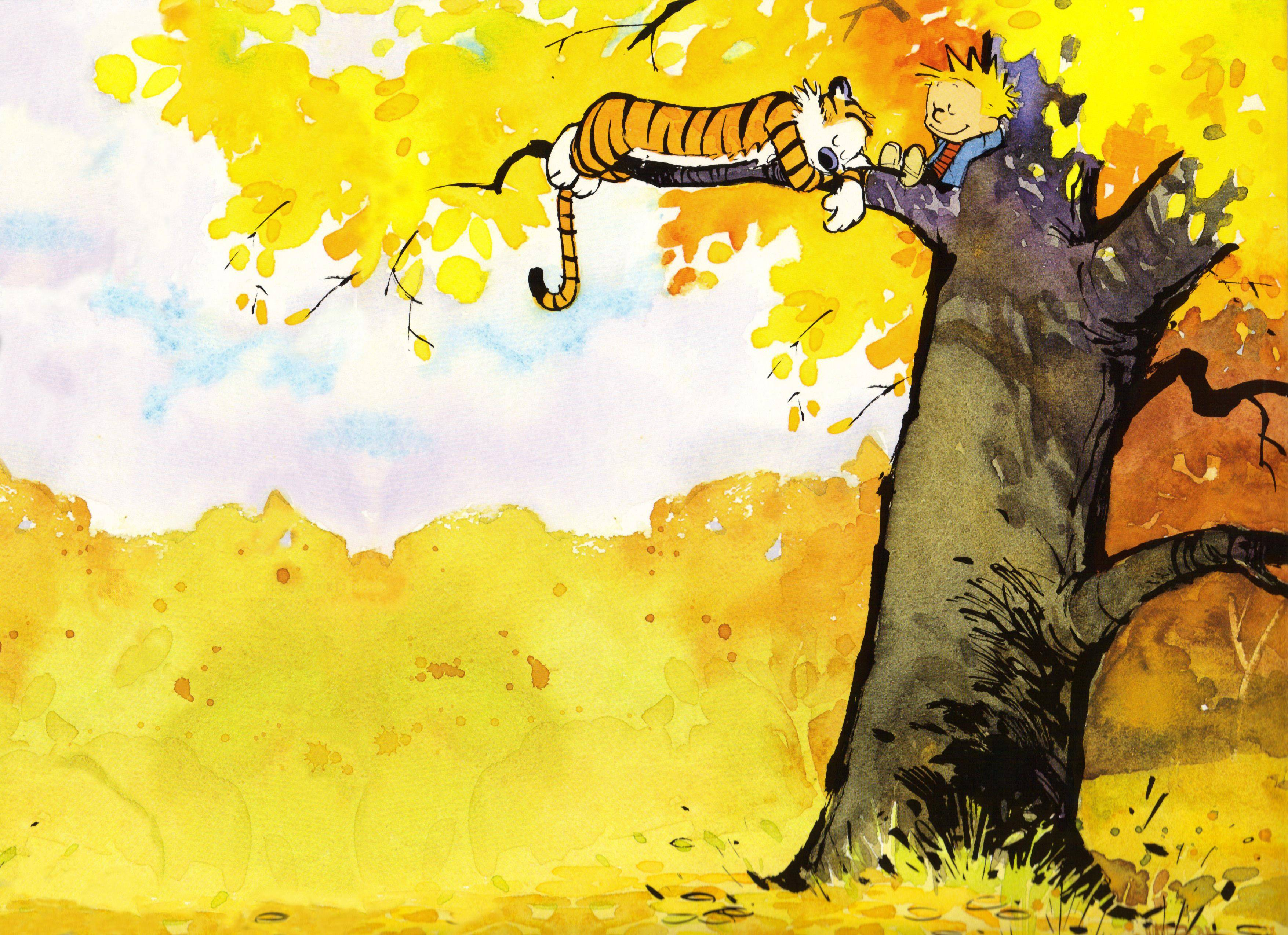 Calvin And Hobbes Wallpapers 3510x2550