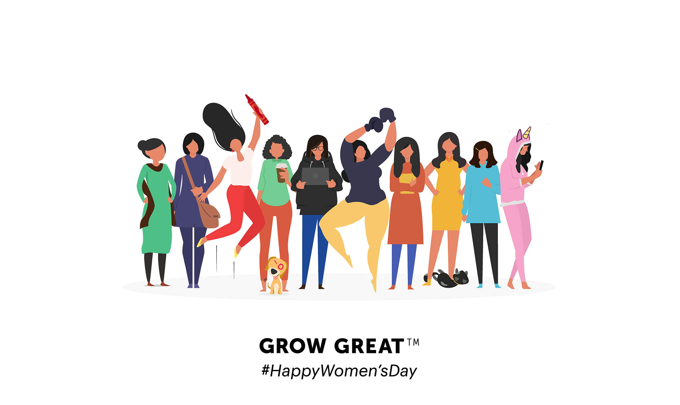 Happy Womens Day HD Images Photos Pictures Wallpaper DP Pics GIFS 2345x1400