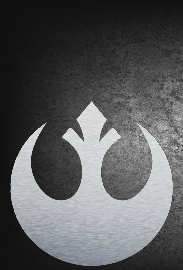 Star Wars Rebel iPhone Wallpaper 4 by masimage 737x1083