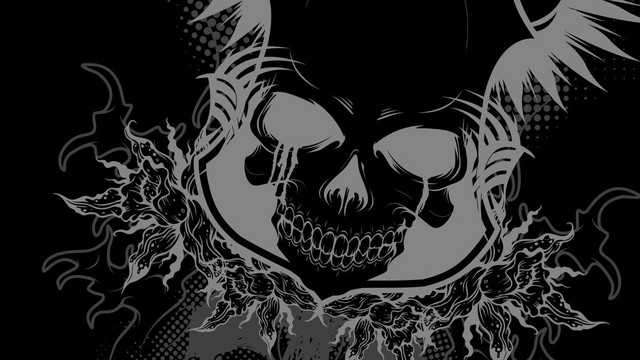 Tribal Gear Wallpapers Tribal Gear Wallpaper Black 640x360