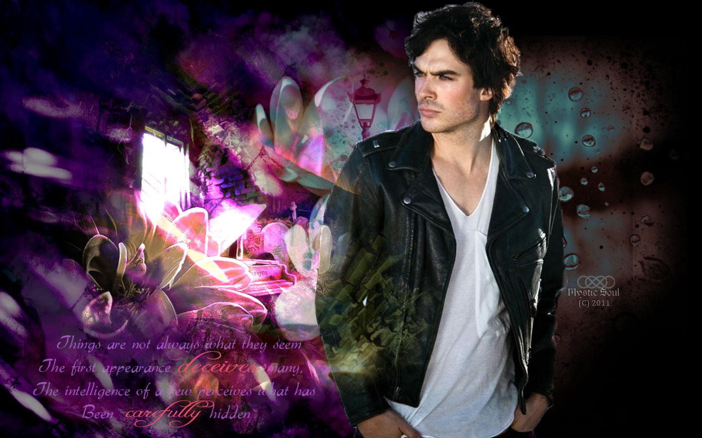 Damon Salvatore Vampire Diaries Wallpaper Damon salvatore vampire 1440x900