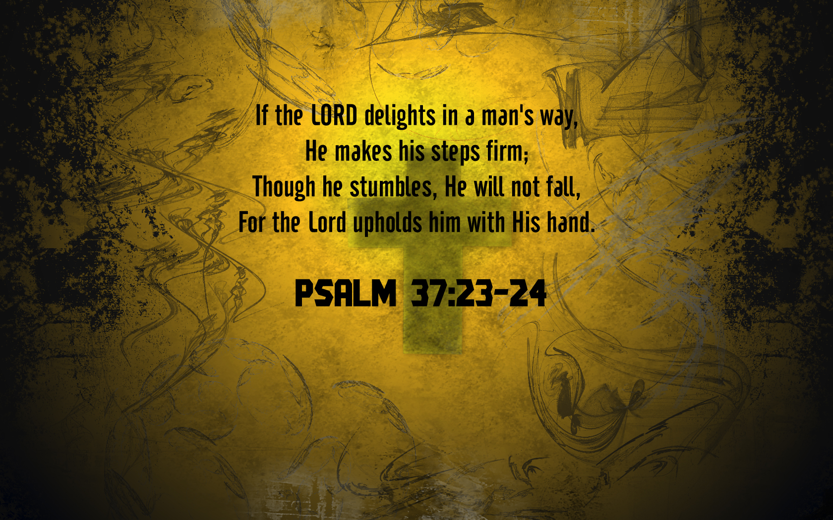 Psalm 37 Wallpaper   Christian Wallpapers and Backgrounds 1680x1050