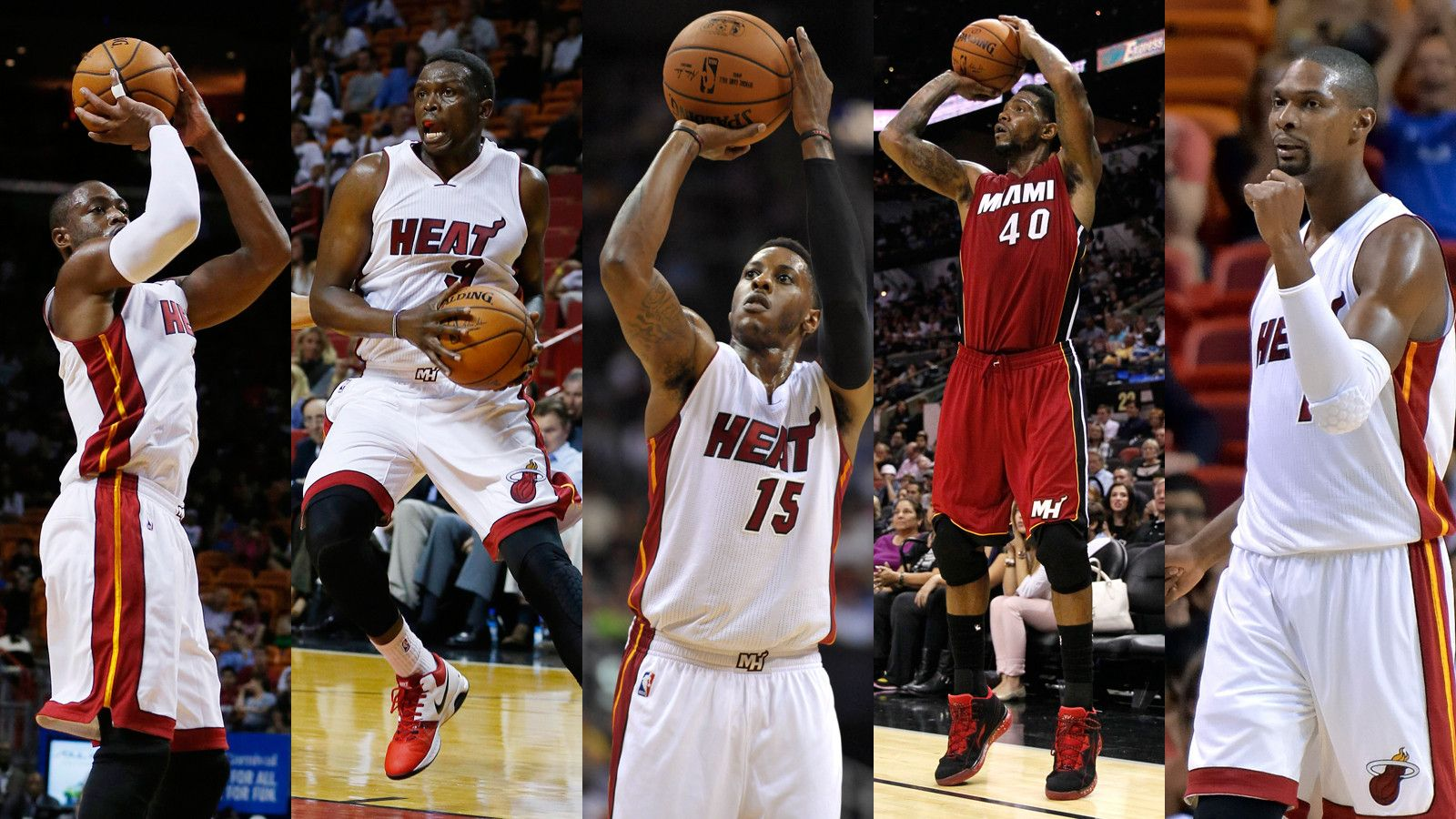 Miami Heat 2015 Roster Wallpapers 1600x900
