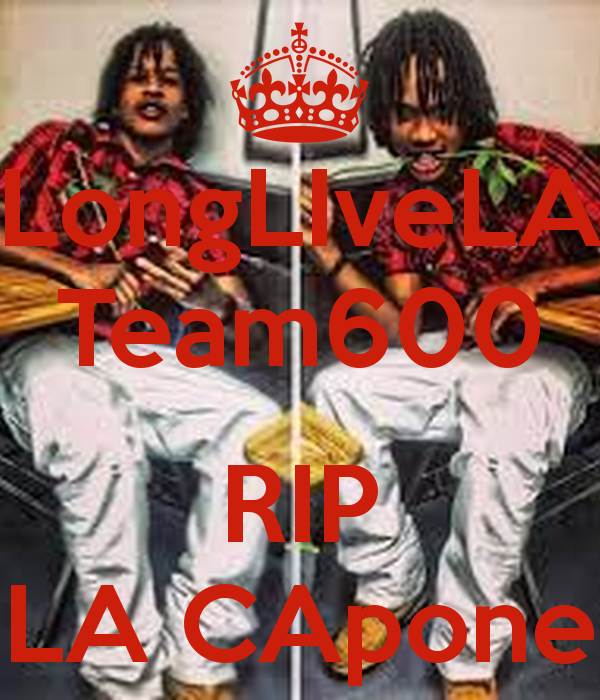 LongLIveLA Team600 RIP LA CApone - KEEP CALM AND CARRY ON Image ...