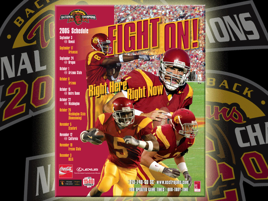 USC Trojans University of Southern California Official 1024x768
