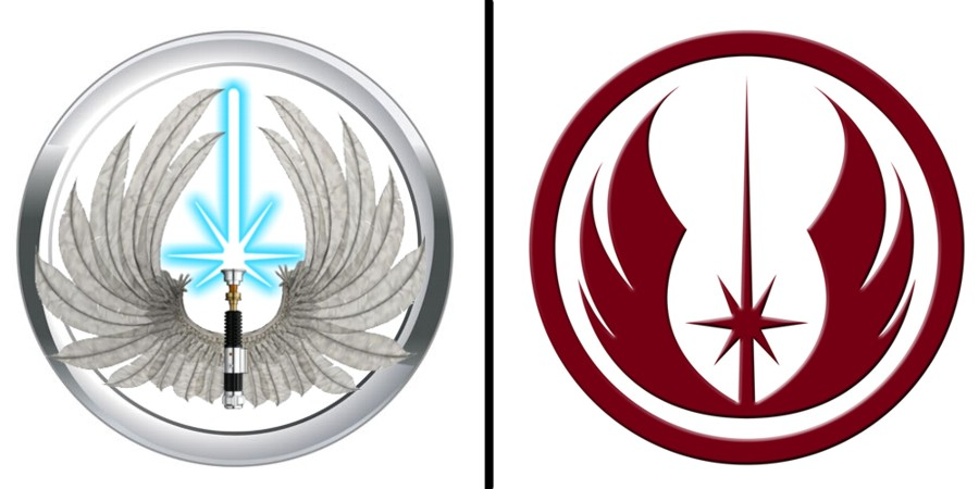 Jedi Order Symbol Wallpaper Jedi order logo comparison by 900x450