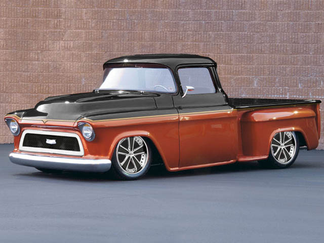 1957 Chevy Truck Chevy Trucks Chip Foose and Chevy 640x480