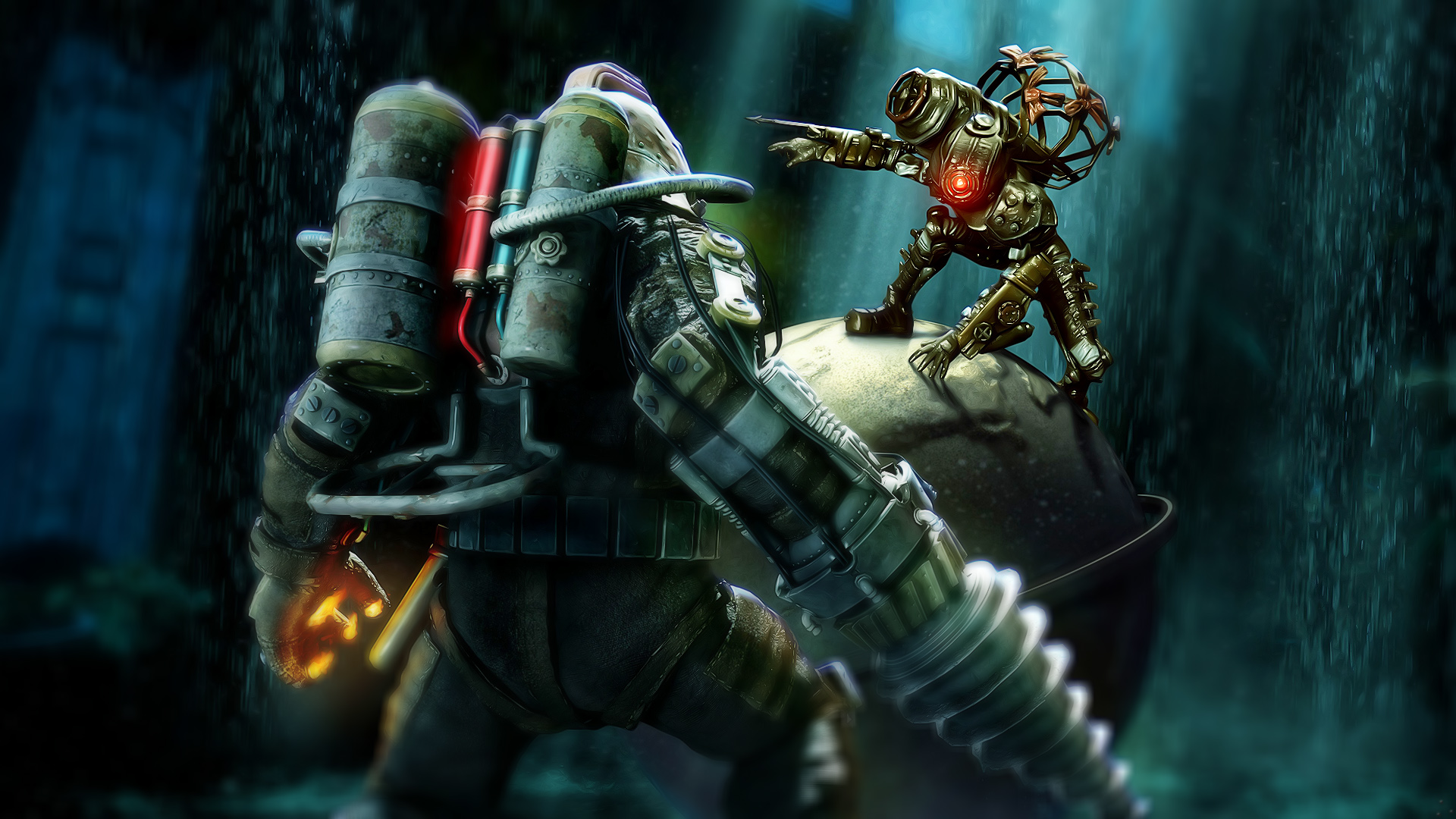Bioshock Game Wallpapers HD Wallpapers 1920x1080