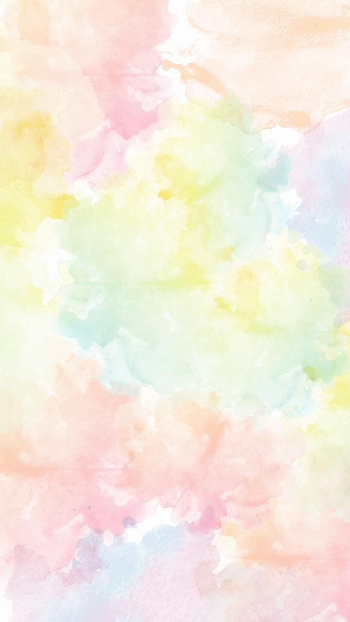 Download Pastel Watercolor Wallpaper by I Hannah   db   on 720x1280